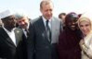 Erdoğan Somali'ye umut ışığı oldu
