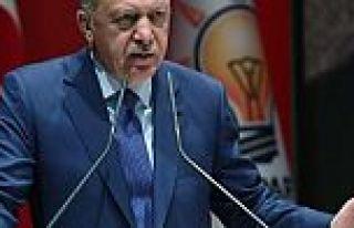 Erdoğan'dan normale dönüş mesajı