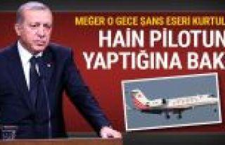 Erdoğan'ı İstanbul'a getiren kaptan için flaş...