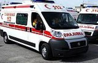 Erzurum'da 1 ambulans ve 3 sağlık görevlisini kaçırıldı