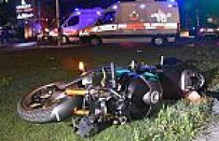 Eyüp'te motosiklet kazası: 2 ölü