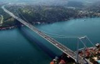 Fatih Sultan Mehmet Köprüsü'nde çalışma