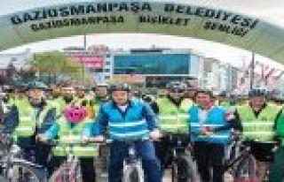 Gaziosmanpaşa 2. Bisiklet Şenliği Başlıyor