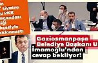 Gaziosmanpaşa Belediye Başkanı Usta, İmamoğlu'ndan...