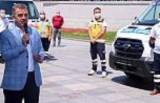Gaziosmanpaşa Belediyesi ambulans filosunu güçlendirdi