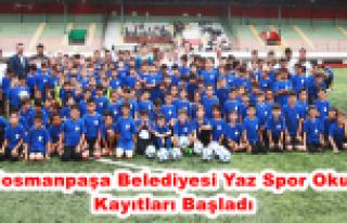 Gaziosmanpaşa Belediyesi Yaz Spor Okulları Kayıtları...