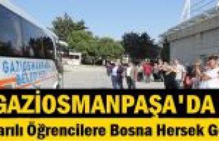 Gaziosmanpaşa Belediyesi'nden Başarılı Öğrencilere...