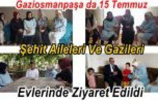 Gaziosmanpaşa da 15 Temmuz Şehit Aileleri Ve Gazileri...