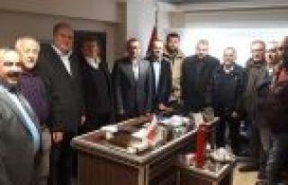 Gaziosmanpaşa Kulüpler Birliği,CHP İlçe Başkanlığını...