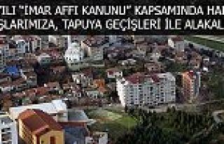 Gaziosmanpaşa'da 2981 İmar Affı Kanunu Duyurusu!