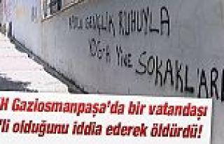"""Gaziosmanpaşa'da """"DAEŞ Üyesi"""" Olduğu İddiasıyla..."""