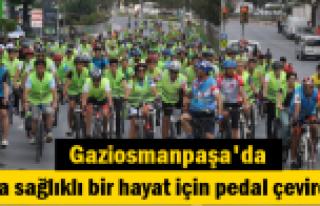 Gaziosmanpaşa'da Daha sağlıklı bir hayat için...