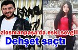 Gaziosmanpaşa'da eski sevgilisini silahla vurdu