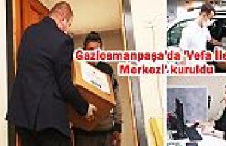 Gaziosmanpaşa'da evden çıkamayan yaşlılara erzak...
