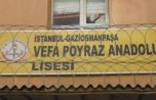Gaziosmanpaşa'da hasar gören okullara ilişkin açıklama