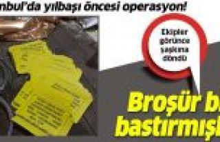 Gaziosmanpaşa'da kaçak içki operasyonu