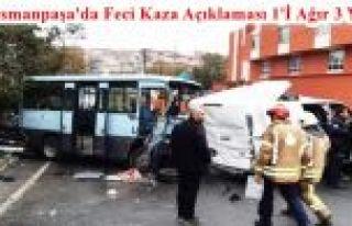 Gaziosmanpaşa'da minibüs devrildi: 1'i ağır, 3...