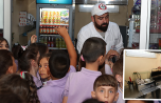 Gaziosmanpaşa'da Okul Kantinlerinde Sağlıklı Gıda...