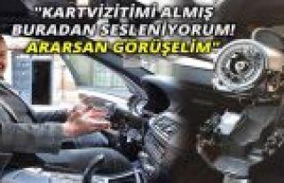 Gaziosmanpaşa'da otomobilin direksiyonunu çaldılar
