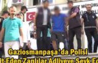 Gaziosmanpaşa'da Polis Memurunu Şehit Eden Zanlılar...