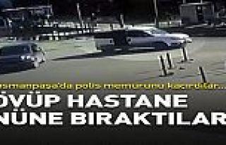 Gaziosmanpaşa'da sanığı kaçırıp polis memurunu...