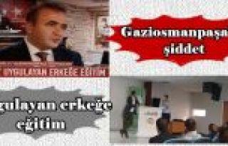 Gaziosmanpaşa'da şiddet uygulayan erkeğe eğitim