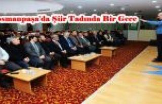 Gaziosmanpaşa'da Şiir Tadında Bir Gece