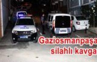 Gaziosmanpaşa'da silahlı saldırganlar dehşet...