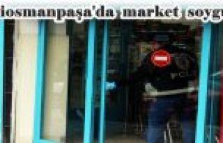 Gaziosmanpaşa'da silahlı ve maskeli şahıs marketi...