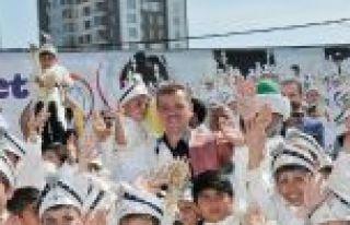 Gaziosmanpaşa'da Sünnet Şöleni Başlıyor