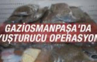 Gaziosmanpaşa'da uyuşturucu operasyonu
