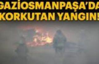 Gaziosmanpaşa'da Yangın: 1 Yaralı