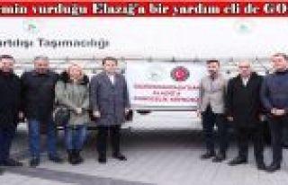 Gaziosmanpaşa'dan Elazığ'a yardım eli