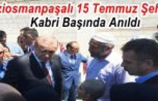 Gaziosmanpaşalı 15 Temmuz Şehidi Kabri Başında...