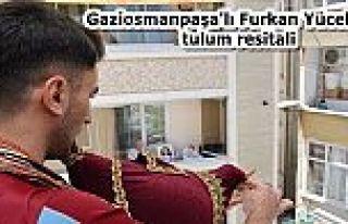 Gaziosmanpaşa'lı Furkan Evlerinden çıkamayan komşularına...