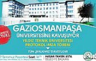 Gaziosmanpaşa'ya Üniversite Geliyor!