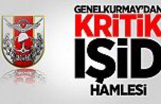 Genelkurmay'dan IŞİD'e Yakın Takip