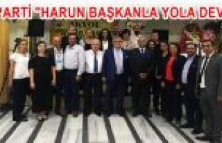 """GOP İYİ PARTİ """"HARUN BAŞKANLA YOLA DEVAM""""..."""
