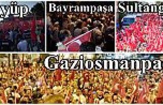 Halk yine sokakta: Darbeye karşı demokrasi nöbeti