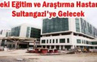 Haseki Eğitim ve Araştırma Hastanesi Sultangazi'ye...