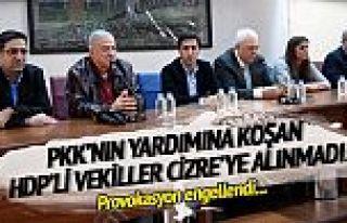 HDP provokasyonuna izin yok