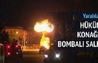 Hükümet konağına bombalı saldırı!