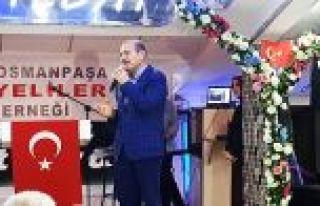 İçişleri Bakanı Soylu, Gaziosmanpaşa'da Ünyeliler...