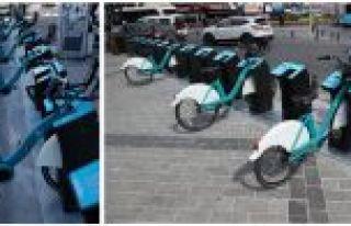 İSBIKE ile Gaziosmanpaşa'da Bisikletler Trafiğe...