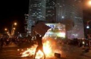 İsrail'de ırkçılığa karşı isyan başladı!