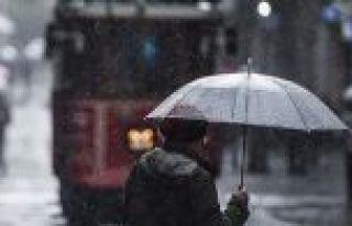 İstanbul için Meteoroloji ve valilikten yağış...