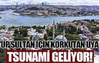 İstanbul için tüyler ürperten deprem ve tsunami...