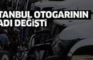 İstanbul otogarının ismi 'İstanbul 15 Temmuz Demokrasi...