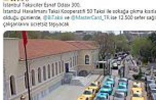 İstanbul Valisi duyurdu! 12 bin 500 taksi ücretsiz...