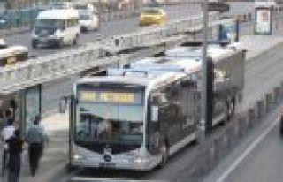 İstanbul'da 22 Eylül'de toplu ulaşım yüzde...